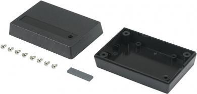 Carcasă plastic ABS, (L x l x Î) 88 x 58 x 30 mm, neagră