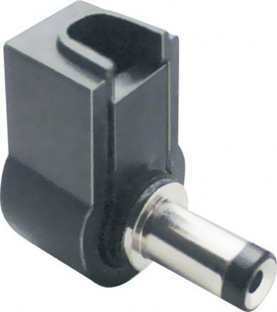 Mufă tată joasă tensiune, în unghi, 3.80 mm/1.00 mm, 72113 BKL Electronic