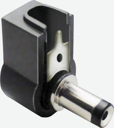 Mufă tată joasă tensiune, în unghi, 5.50 mm/2.50 mm, 72140 BKL Electronic