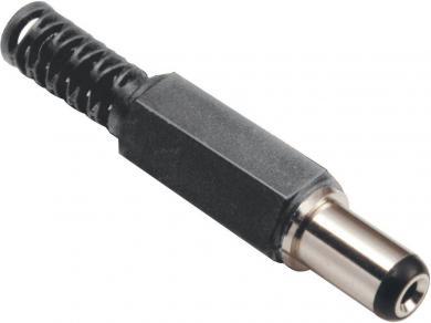 Mufă tată joasă tensiune, drept, 3.80 mm/1.00 mm, 72103 BKL Electronic