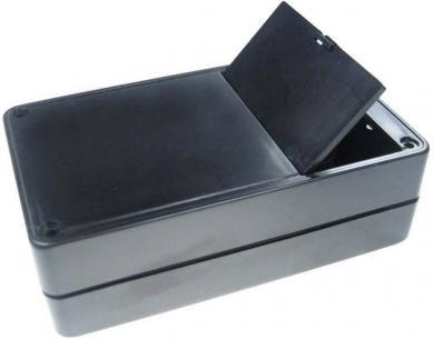 Carcasă de plastic cu compartiment baterie G02B, suport pentru 4 baterii AA (LR6), 123 x 72 x 39 mm