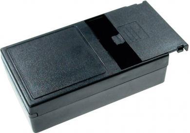 Carcasă de plastic cu compartiment baterie G03B, suport pentru 4 baterii AA (LR6), 123 x 72 x 39 mm