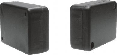 Carcasă plastic ABS KK52SW, negru, 80 x 55 x 28 mm
