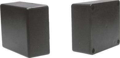 Carcasă plastic CO 5SW Strapubox, plastic ABS, negru, 71 x 61 x 30 mm