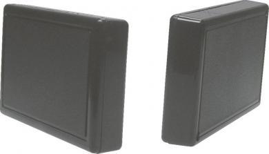 Carcasă plastic 2218SW Strapubox, plastic ABS, negru, 102.5 x 61.5 x 18 mm