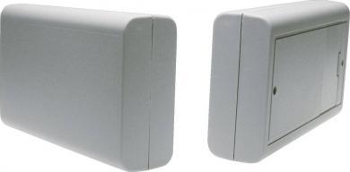 Carcasă plastic 6006GR cu compartiment pentru baterii, gri, 125 x 74 x 27 mm