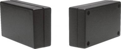Carcasă plastic 2744SW, negru, 70 x 40 x 20 mm