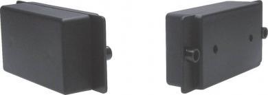 Carcasă plastic 2031SW, negru, 80 x 46 x 26 mm