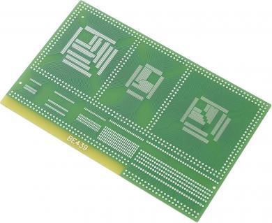 Adaptor placa test SMD epoxid (L x l) 100 x 160 mm, 35 µm, Conrad SU528439