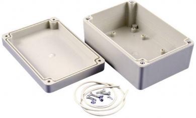 Carcasă seria RP1135 Hammond Electronics, plastic ABS, gri deschis