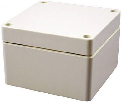 Carcasă plastic IP66 1554EGY Hammond Electronics, gri pal, 90 x 90 x 60 mm