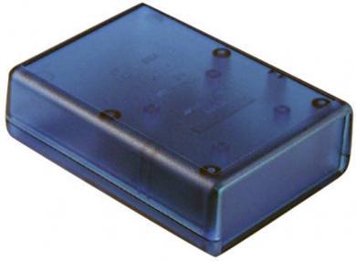 Carcasă handheld albastru transparent Hammond Electronics 1593QTBU