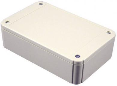 Carcasă plastic ABS IP54 RL6555 Hammond Electronics, gri deschis, 175 x 125 x 70 mm
