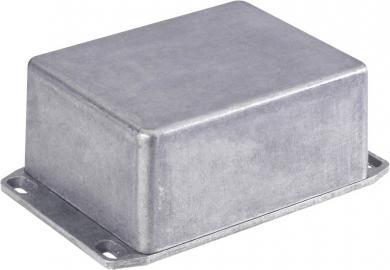 Carcasă de aluminiu turnată, ecranare EMC, IP54, 1590BBFL, cu flanşă, 118.5 x 93.5 x 34 mm