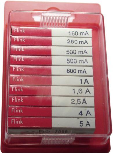 Set siguranţe 5 x 20 mm, rapide, Eska 120950