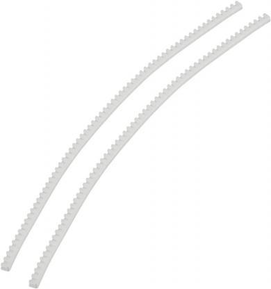 Protecţie margini transprarentă KG008, 10 x 3.3 x 3.7 mm, adecvat pentru 0.8 mm, 10 m