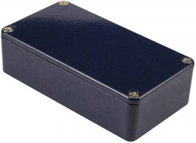 Carcasă de aluminiu IP54, 1590BCB, albastru, 111.5 x 59.5 x 31 mm