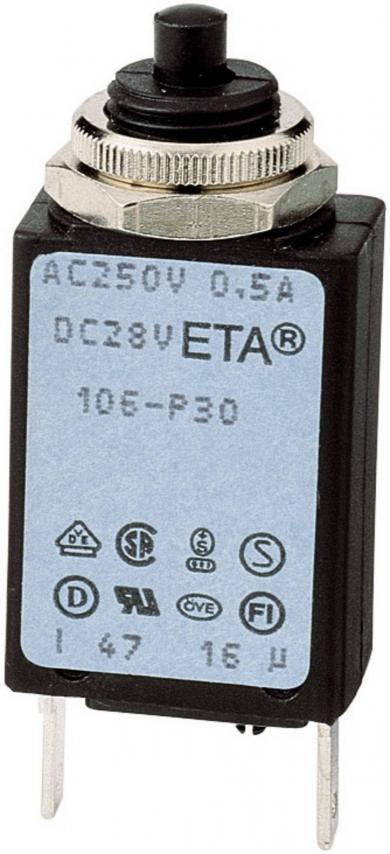 Disjuctor supracurent, 250 V/AC, 4.0 A