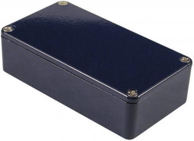 Carcasă de aluminiu IP54, 1590BBCB, albastru, 118.5 x 93.5 x 34 mm