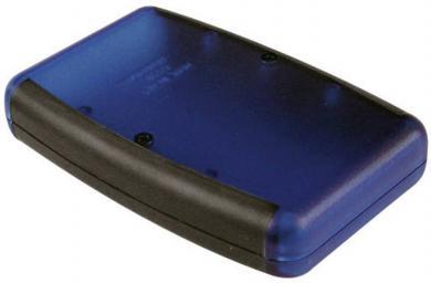 """Carcasă handheld """"Soft Side"""" Hammond Electronics, 1553BYLBK"""