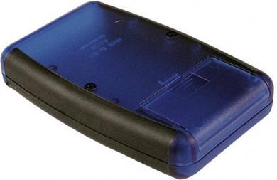"Carcasă handheld ""Soft Side"" Hammond Electronics, 1553DYLBKBAT"
