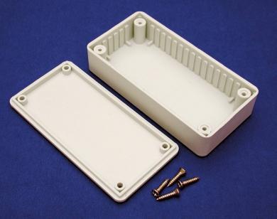 Cutie din plastic ABS/mix polistiren reciclabil, tip BOXLGY, IP54, 85 x 56 x 39 mm