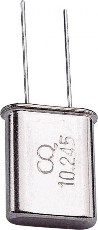 Cuarț HC-18U/49U, 10,2450 MHz, (l x Î) 11,05 x 13,1 mm