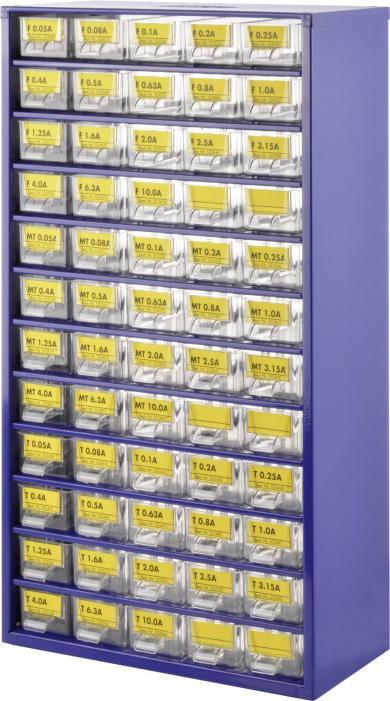 Set siguranţe de precizie în tub de sticlă 5 x 20 mm