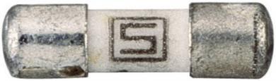 Siguranţă fuzibilă MELF Schurter, tip 7010.9760, declanşare rapidă -F- 0,125 A