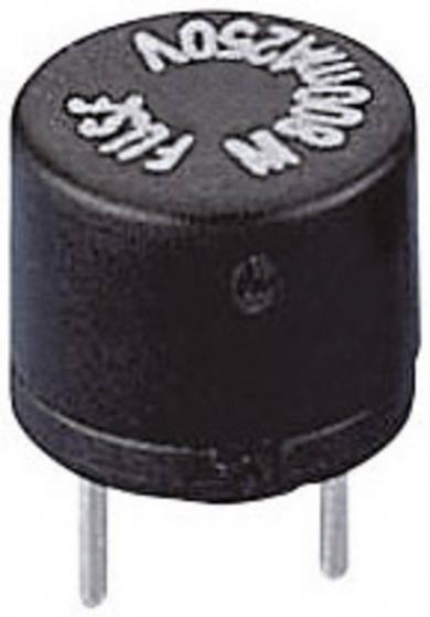 Siguranţă micro-miniatură Eska, RM 5,08 mm, declanşare lentă -T- 1 A