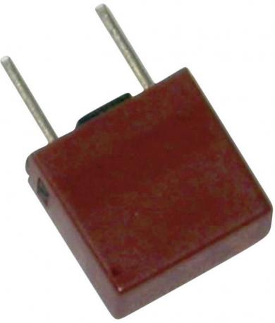 Siguranţă micro-miniatură Eska, 250 V, capacitate de rupere 100 A, curent nominal 125 mA, versiune dreptunghiulară
