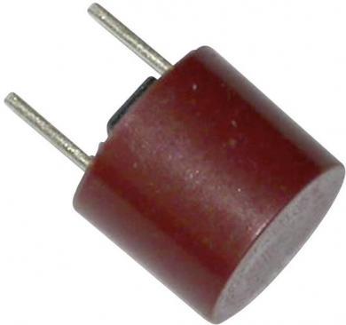 Siguranţă micro-miniatură Eska, 250 V, capacitate de rupere 100 A, curent nominal 1.25 A, versiune rotundă