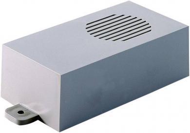 Modul mini-carcasă Strapubox, plastic ABS, gri, 115 x 60 x 35 mm