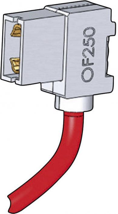 Manşon de izolare pentru terminale plate, Richco OF-250, în unghi, 6,3 mm