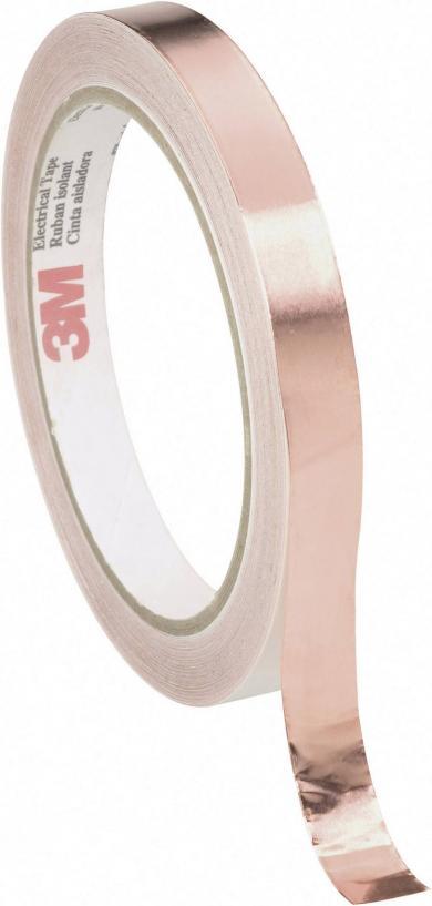 Folie de cupru 3M, (L x l) 16,5 m x 12 mm, 1 rolă