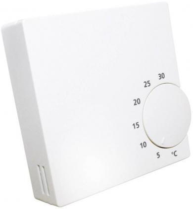 Termostat de cameră, montare la suprafaţă, 5 la 30 °C, Salus Controls RT10
