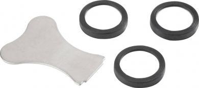Set 3 membrane de schimb (Ø 20 mm) cu cheie pentru 550768 Conrad SPK06