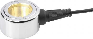 Proiector cu halogen subacvatic GU4, argintiu, tip protecţie IP68