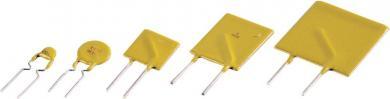 Siguranţă resetabilă Bourns, seria MF-R, (Ø) 9,7 mm, I(H) 0,65 A