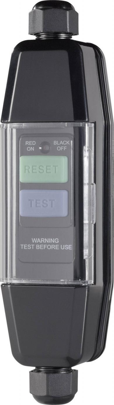 Adaptor protecție împotriva electrocutării RCD 3600 W, IP55, montare pe cablu