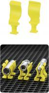 Set clips universal Toolcraft (L x l) 15 x 40 mm 10 buc.