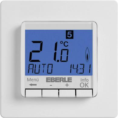 Termostat de cameră, montaj încastrat, program zilnic, 5 la 30 °C, Eberle FIT-3R