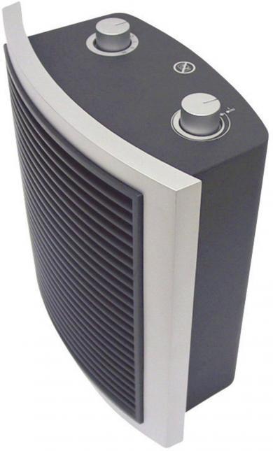 Suflantă de aer cald rapidă Aurora Pikkolo Basic, 2000 W, 230 V/50 Hz, gri-antracit