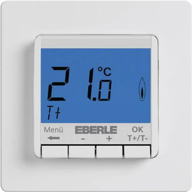 Termostat de cameră, montaj încastrat, program zilnic, 5 la 30 °C, Eberle FITNP-3R