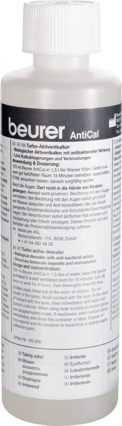 Soluţie anti-calcar AntiCal pentru purificator aer Beurer LW 110, 250 ml