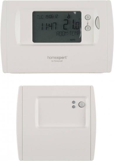 Termostat de cameră wireless, montare aparentă, program zilnic, Honeywell Homexpert THR872CBG
