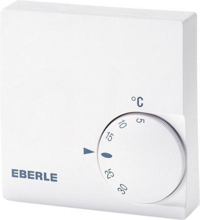 Termostat de cameră, montare aparentă, program zilnic, 5 la 30 °C, Eberle RTR-E 6721