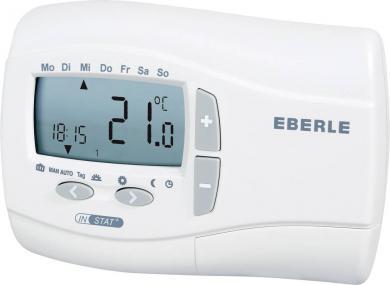 Termostat de cameră, montare la suprafaţă, program săptămânal, 7 la 32 °C, Eberle INSTAT+ 2R