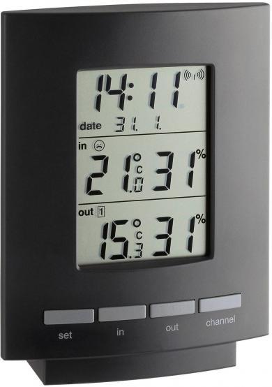 Termohigrometru wireless Maxim II, TFA 30.3013