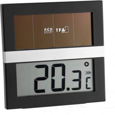 Termohigrometru digital Eco Solar, TFA 30.1037